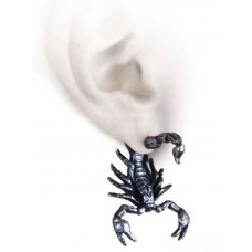 Alchemy Single Earring: The Scorpion