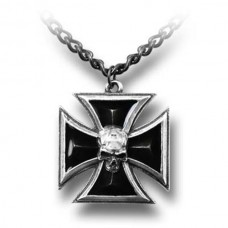 Alchemy Pendant: Black Knight's Cross
