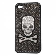 Kirks Folly iPhone 4 case: skull and bones