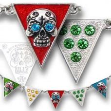 Alchemy Necklace: Banderas de los Muertos