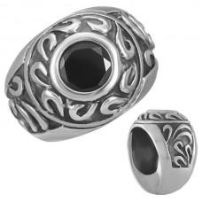 Steel ring. Gothic college, 57 mm (18,1 mm Ø)