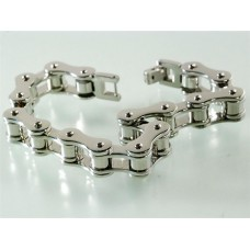 Steel bracelet: Motorcycle transmission chain