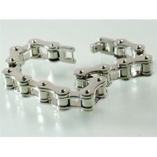 Steel bracelet: Motorcycle transmission chain