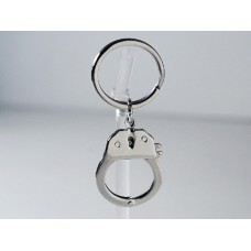 Steel keyring with opening handcuff