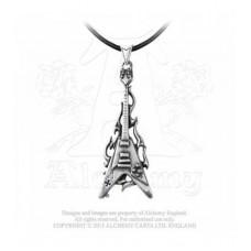 Alchemy necklace: Flaming V
