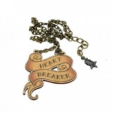 Heart Breaker Necklace: Let people know right away that you like to break hearts